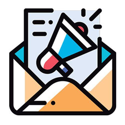 E-mail marketing possui um dos melhores custo-benefício na aquisição de clientes, sendo 40 vezes mais eficaz na aquisição de novos clientes do que outros canais.